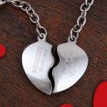 Paaranhaenger Herz zum Valentinstag