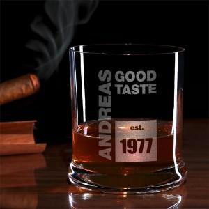 Whiskyglas mit Gravur | Gravierte personalisierte Whiskygläser